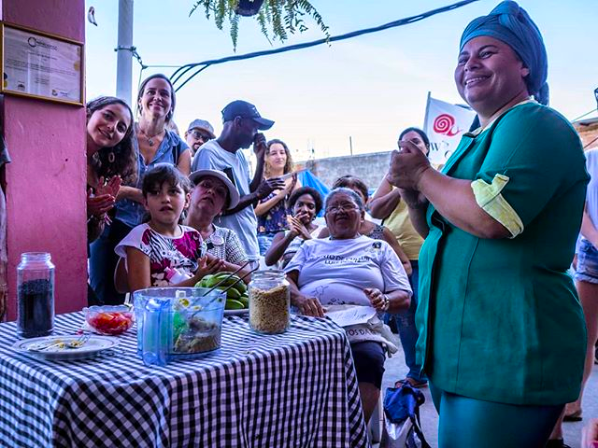 Favela Orgânica recebe 1º intercâmbio de 2019 da Rede Favela Sustentável
