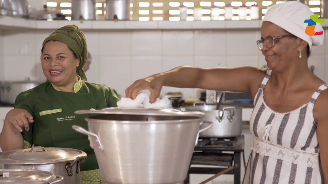 """""""Também Tem Isso"""" - série do ISPN com participação da chef de cozinha Regina Tchelly"""